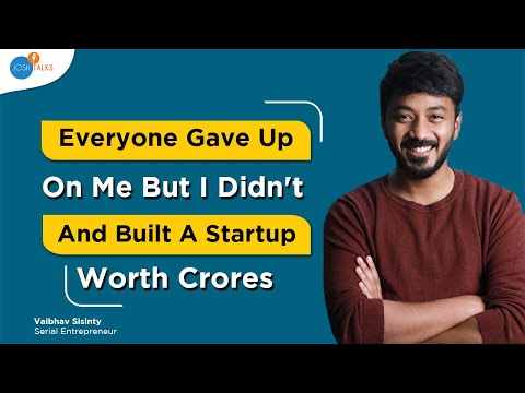 Take Advantage Of Every Opportunity That You Get | Success Motivation | Vaibhav Sisinty | Josh Talks