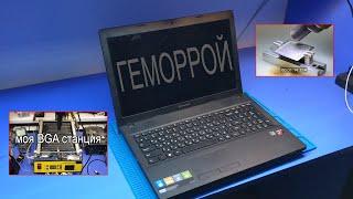 ДОЛГИЙ и ГЕМОРНЫЙ РЕМОНТ/АПГРЕЙД НОУТБУКА Lenovo G505. ОБЗОР МОЕЙ ПАЯЛЬНОЙ СТАНЦИИ.