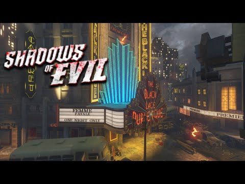 Shadows of Evil - Easter Egg Walkthrough! (Call of Duty: Black Ops 3 Zombies)