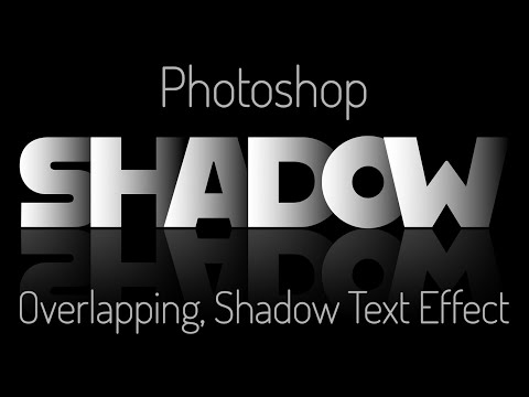 Photoshop: Create A Powerful, Dramatic, Deep, Overlapping Text Effect With Reflection