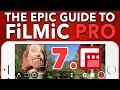7. Resolution, BitRate & Aspect Ratio - Epic Guide to FiLMiC Pro