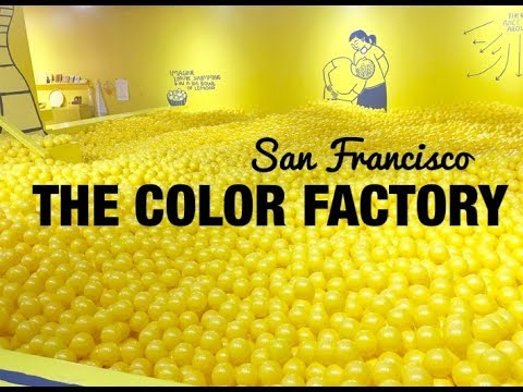 the color factory san francisco youtube. Black Bedroom Furniture Sets. Home Design Ideas
