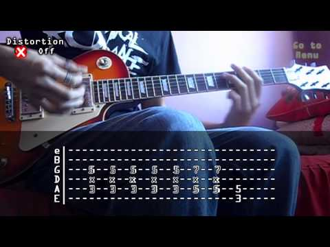 My Chemical Romance - I Don't Love You (Cover and tabs)