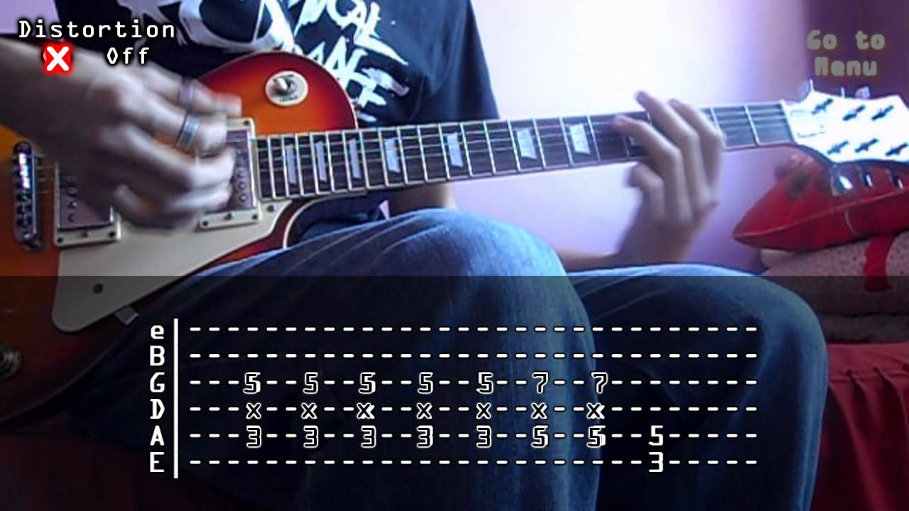 My chemical romance i dont love you cover and tabs youtube hexwebz Choice Image