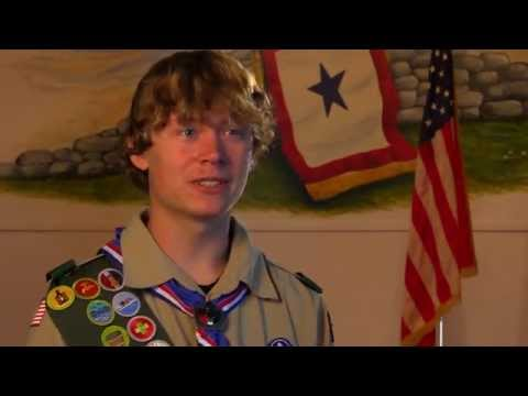 Eagle Scout Project of the Year 2014 recipient Cody Eckels