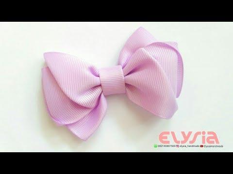Cute Ribbon Bow - Hair Bow | DIY by Elysia Handmade