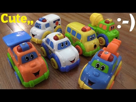 Thumbnail: Baby and Toddler's Toys: Motion Sensor Toy Vehicles - Police Car, Ambulance, School Bus, etc...