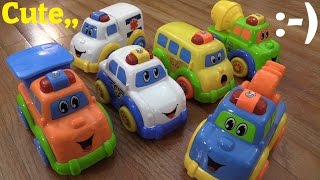 Baby and Toddler's Toys: Motion Sensor Toy Vehicles - Police Car, Ambulance, School Bus, etc...