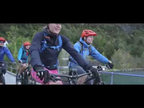Ettermiddagstur med el-sykkel