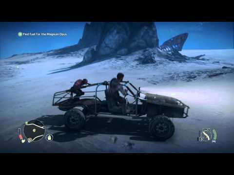 Mad Max - Chap 2 Magnum Opus: Map Tutorial, Find Fuel (Fuel Cans) Scrap Collected, Ground Combat PS4