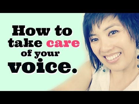 How to Take Care of Your Voice - Vocal Health Tips