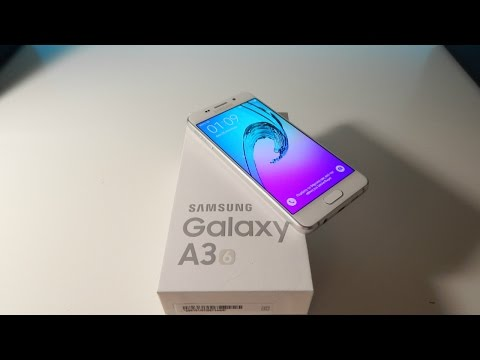 Samsung Galaxy A3(6) Unboxing & First Thoughts|(2k16)