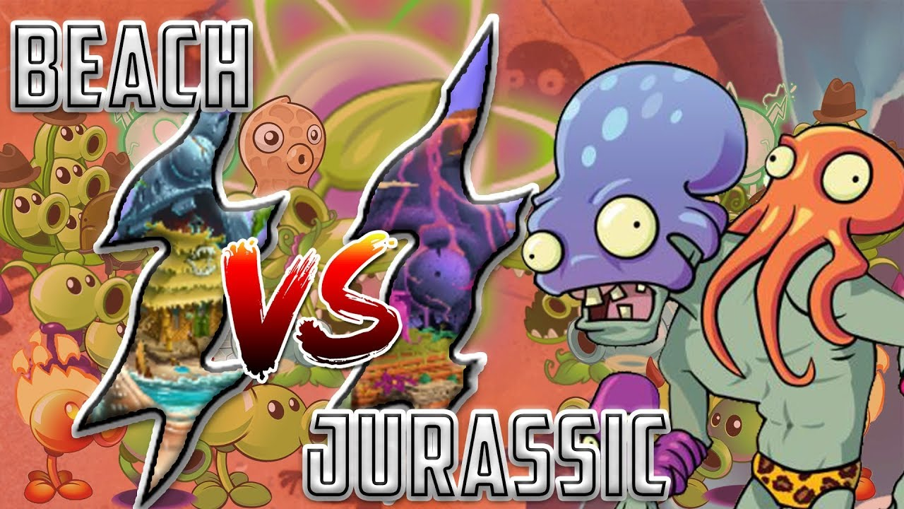 Download Beach Portal vs Dino Portal  Plants vs Zombies 2 Epic MO