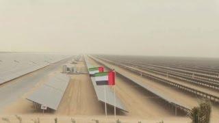 Dubai inauguró central solar que brinda energía a 50.000 hogares
