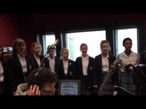 Gary's Choir Singing Live on BBC Radio Sussex & Surrey