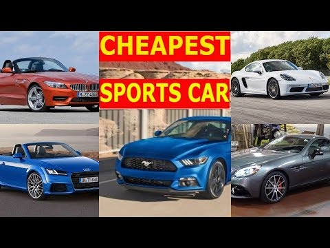 TOP 5 CHEAPEST SPORTS CARS In INDIA 2018