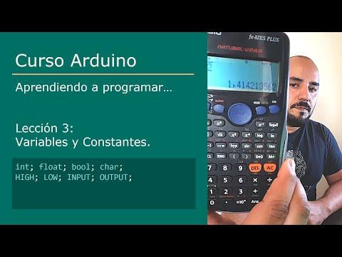 #3 Curso Arduino 💻 - Variables Y Constantes [int, Float, Bool, Char]