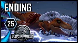 LEGO Jurassic World Ending Gameplay PC - Indominus vs T-Rex [Part 25]