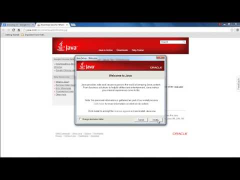 How to download Java plugin for Chrome - YouTube