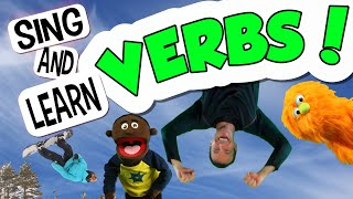 English Learning for Kids | Fun Action Verbs!|Children's Song with Actions | Kinesthetic Learning