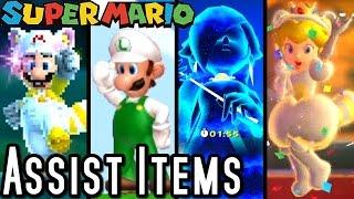 Game | Super Mario ALL SUPER POWERUPS Assist Guides Wii U, Wii, 3DS | Super Mario ALL SUPER POWERUPS Assist Guides Wii U, Wii, 3DS