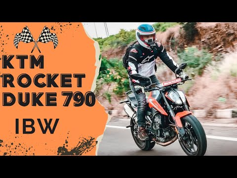 MUMBAI TO GOA ON ROCKET DUKE 790 | IBW 2019
