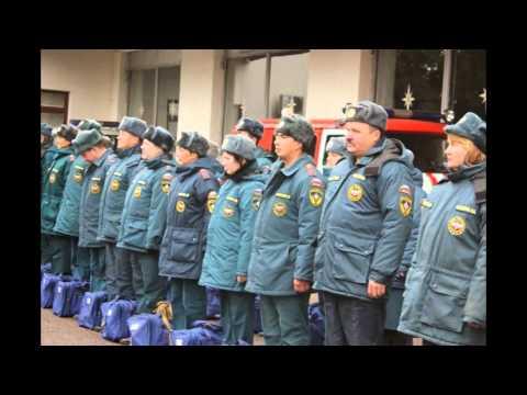 Сто сотрудников МЧС перешли на зимнюю форму одежды