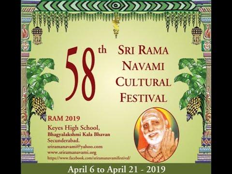 Sri Dushyanth Sridhar On Paramacharya (Sri Rama Navami Cultural Festival, Secunderabad, 6-4-19)