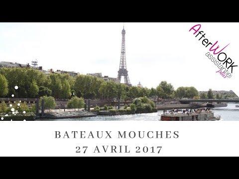 Soirée du 27.04.2017 sur les Bateaux Mouches