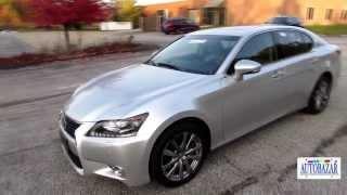 2013 Lexus GS350 видео обзор. Авто из Америки. Тест драйв 2013 Лексус GS350