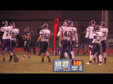 Blissfield High School vs Hillsdale High School First Round Playoff Game 2018