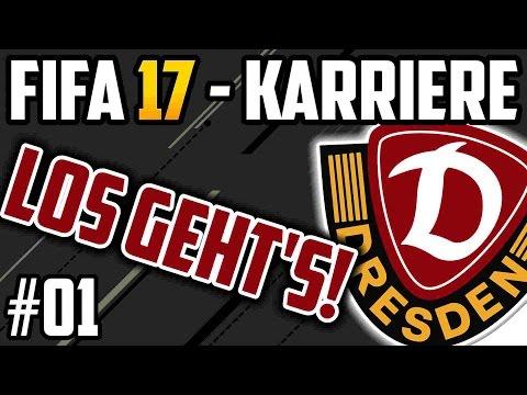 Los geht's - FIFA 17 Dynamo Dresden Karriere: Lets Play #01