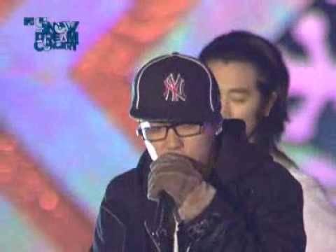 Eun Jiwon -  Adios [MTV Snow Dream Concert 01.10.2008]