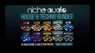 House Techno Bundle - Royalty Free Samples Maschine Expansions By Niche Audio