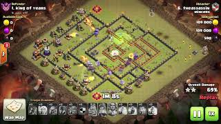 CLASH OF CLANS- HOW TO 3 STAR TH11 DIAMOND BASE
