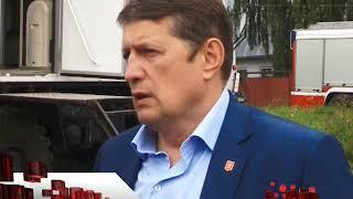 Сюжет ТСН24: В Туле продолжается снос цыганских самостроев