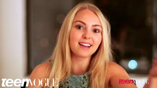 AnnaSophia Robb in Teen Vogue - The Carrie Diaries YouTube Videos