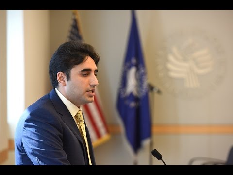 Discussion with Bilawal Bhutto Zardari, leader of the Pakistan People's Party