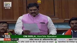 Dr. Krishna Pal Singh Yadav raising 'Matters of Urgent Public Importance' in Lok Sabha: 19.11.2019