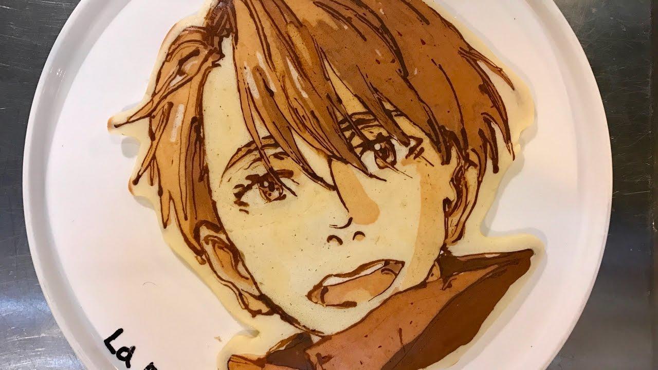 スポーツアニメなパンケーキアート集〜Sports Anime in Pancakeart 2017/1/2