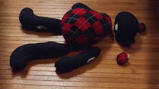 8 марта/ Мишка тедди/ How to make Teddy Bear from old sweater