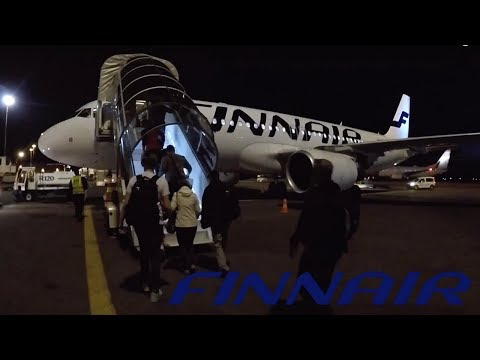 FLIGHT REPORT / FINNAIR AIRBUS A320 / HELSINKI - ANTALYA