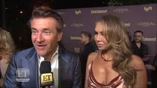 Robert And Kym Herjavec At The EW Emmy Party