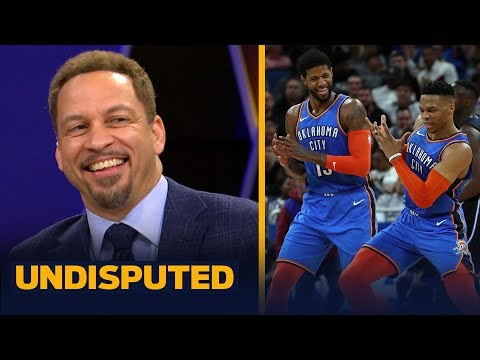Chris Broussard says Russell Westbrook deserves credit for his triple-double feat | NBA | UNDISPUTED