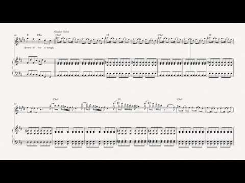 Clarinet - Reptilia - The Strokes - Sheet Music, Chords, & Vocals