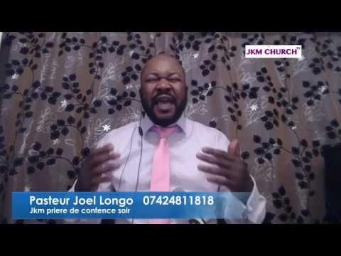 Pasteur Joel Longo prière du soir 01.03.2017
