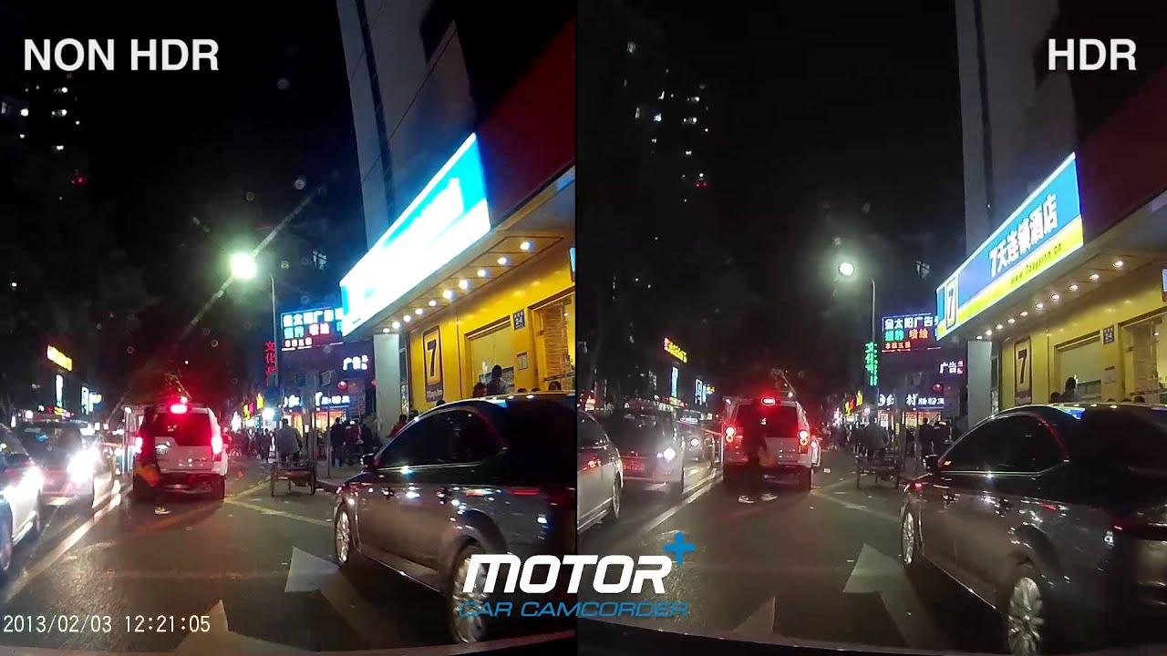 Motor+ HDR & Non-HDR Video Comparison