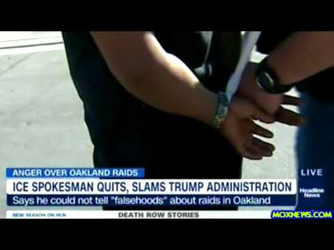 """ICE Spokesman Quits Citing """"Falsehoods Spread By The Trump Administration About Immigrants"""""""