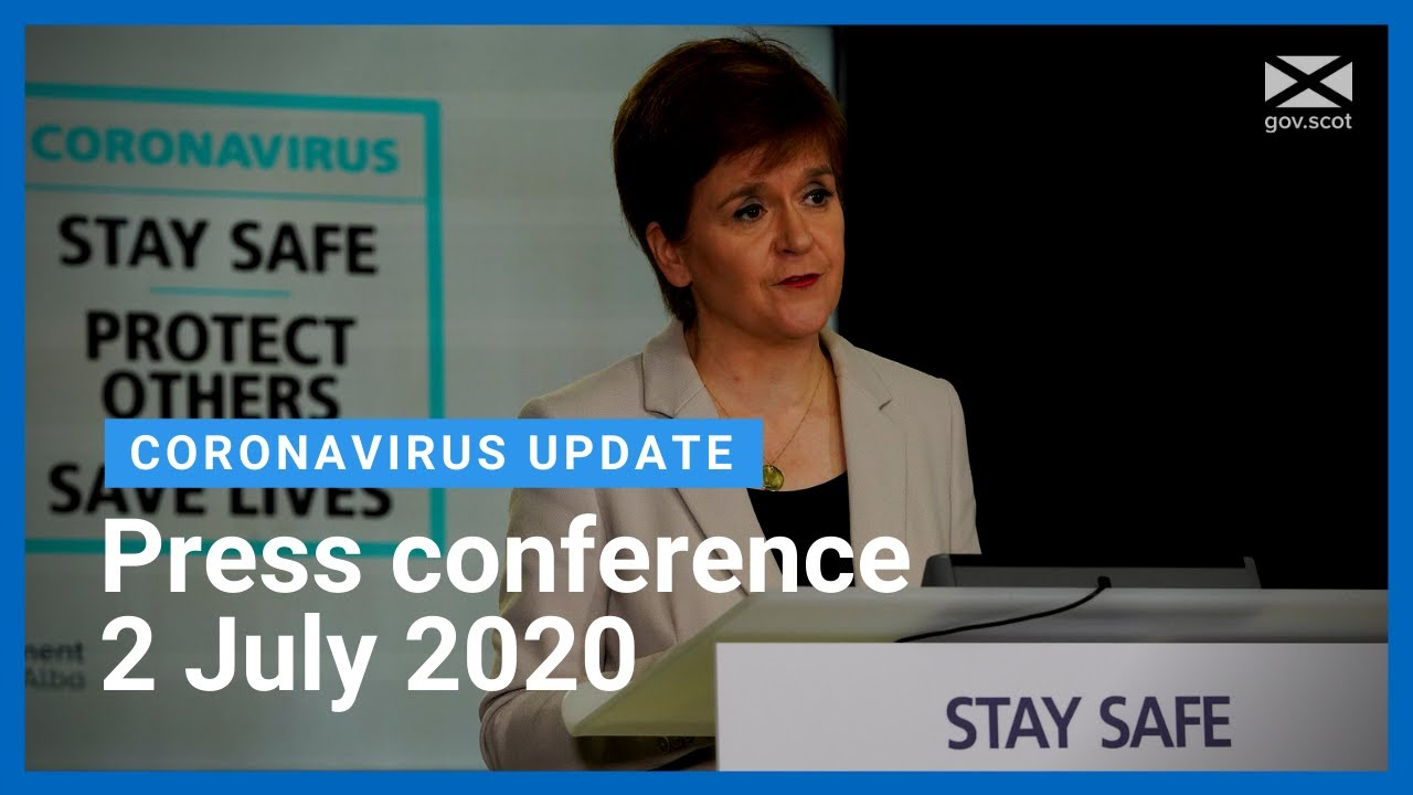 Coronavirus update from the First Minister: 2 July 2020