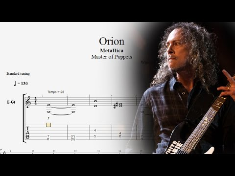 Guitar Lessons: Metallica - Orion Tabs - Guitar Solo Cover